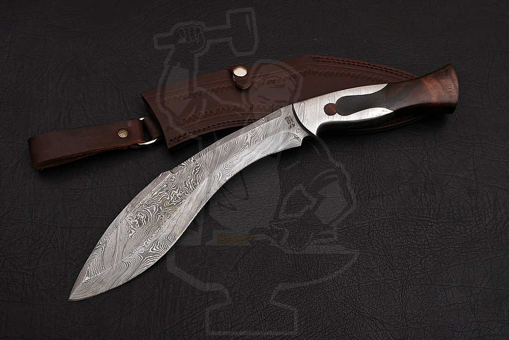 Damascus Steel Kukri