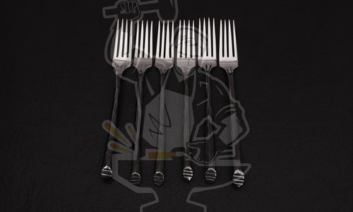 FORGED ARTISAN DINNER FORK (06 PIECE)