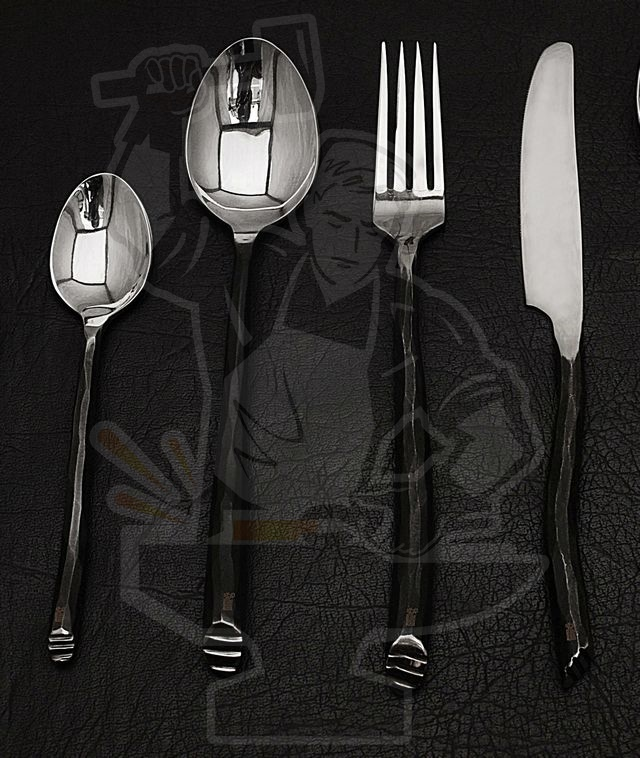 FORGED ARTISAN CUTLERY SET (08 PIECE)